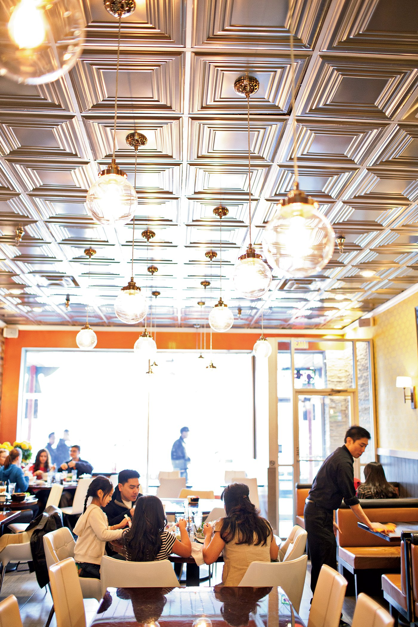 The dining room at Rice Paper. Photograph by Scott Suchman.