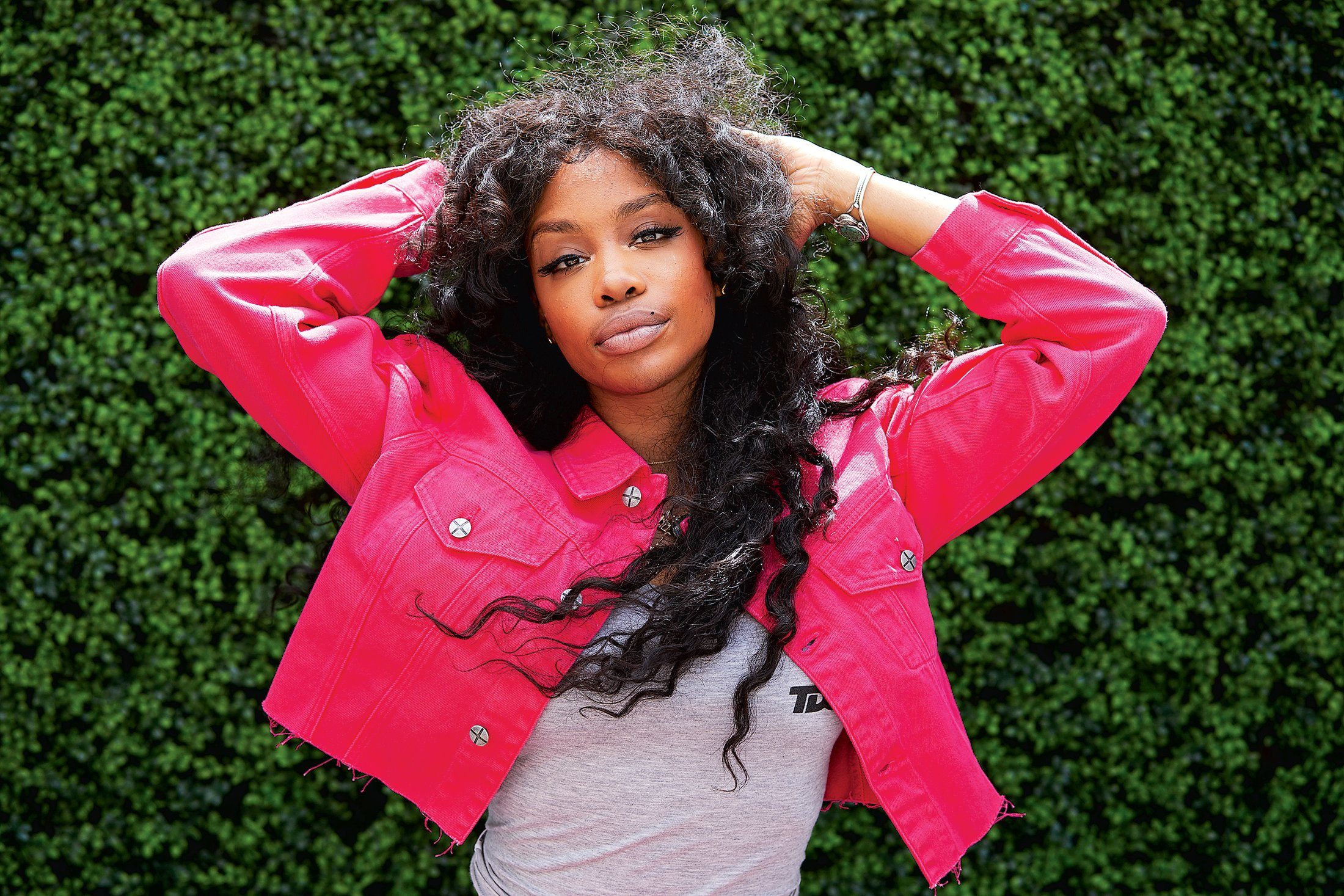 Photograph of SZA by Nic Bezzina/New York Times/ Redux.