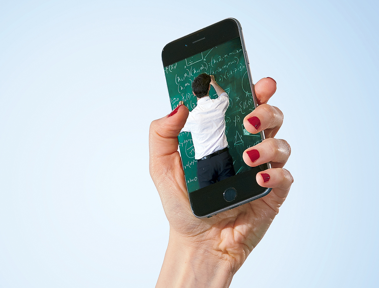 Photograph of Smartphone by Jeff Elkins. Inset Photograph by Istock.