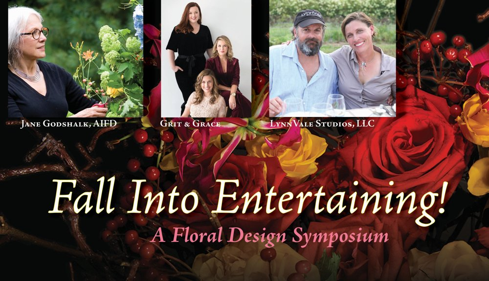 Fall into Entertaining – A Floral Design Symposium