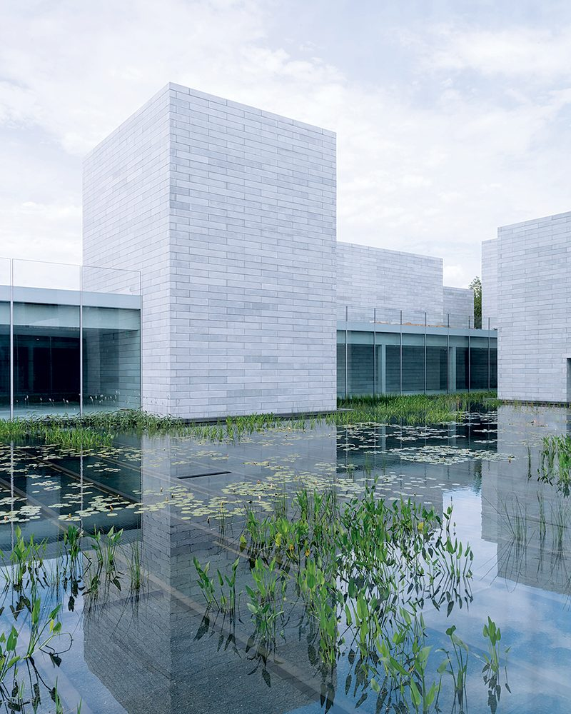 Photograph of Glenstone by Iwan Baan.