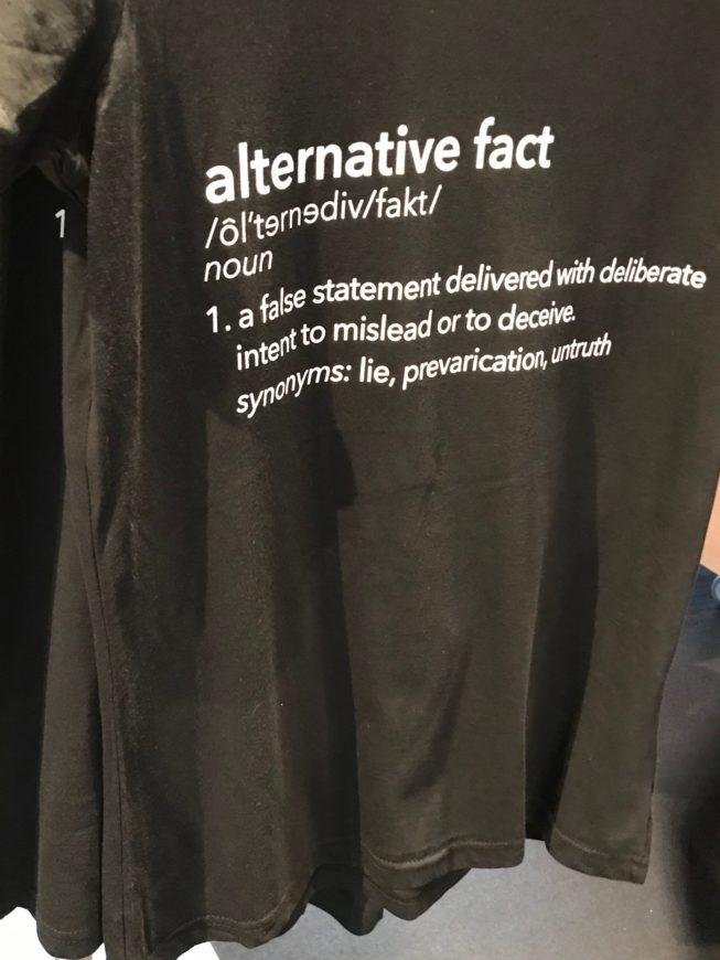 alternative fact shirt