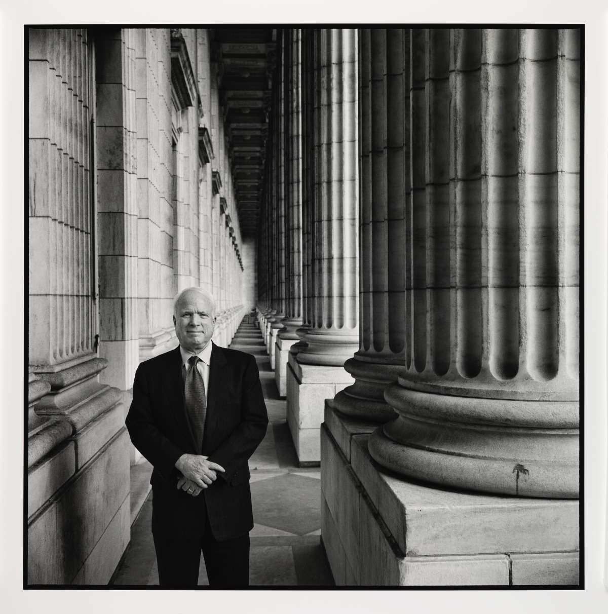 John McCain National Portrait Gallery
