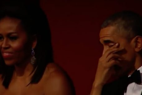 WATCH: That Time Aretha Franklin Made Barack Obama Cry in DC