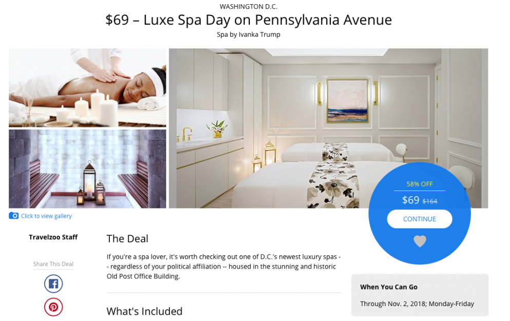 """This Trump Hotel Offer Painstakingly Avoids Using Words """"Trump Hotel"""""""