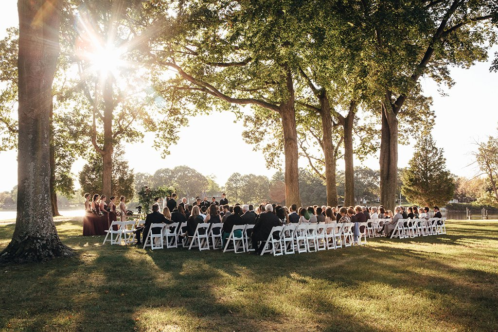 nature inspired nature themed wedding nature-inspired nature-themed wedding moss birch oysters bay Chesapeake bay