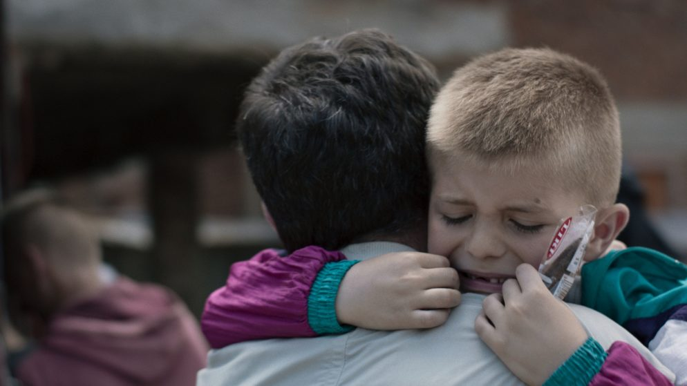 """Crammed into a Truck and Unable to Breathe, This George Mason Grad Became a Refugee at 6. Erblin Nushi Reflects on His Childhood Trauma in the Short Film """"Bini."""""""