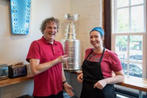 The Stanley Cup Made a Stop at Mount Desert Island Ice Cream