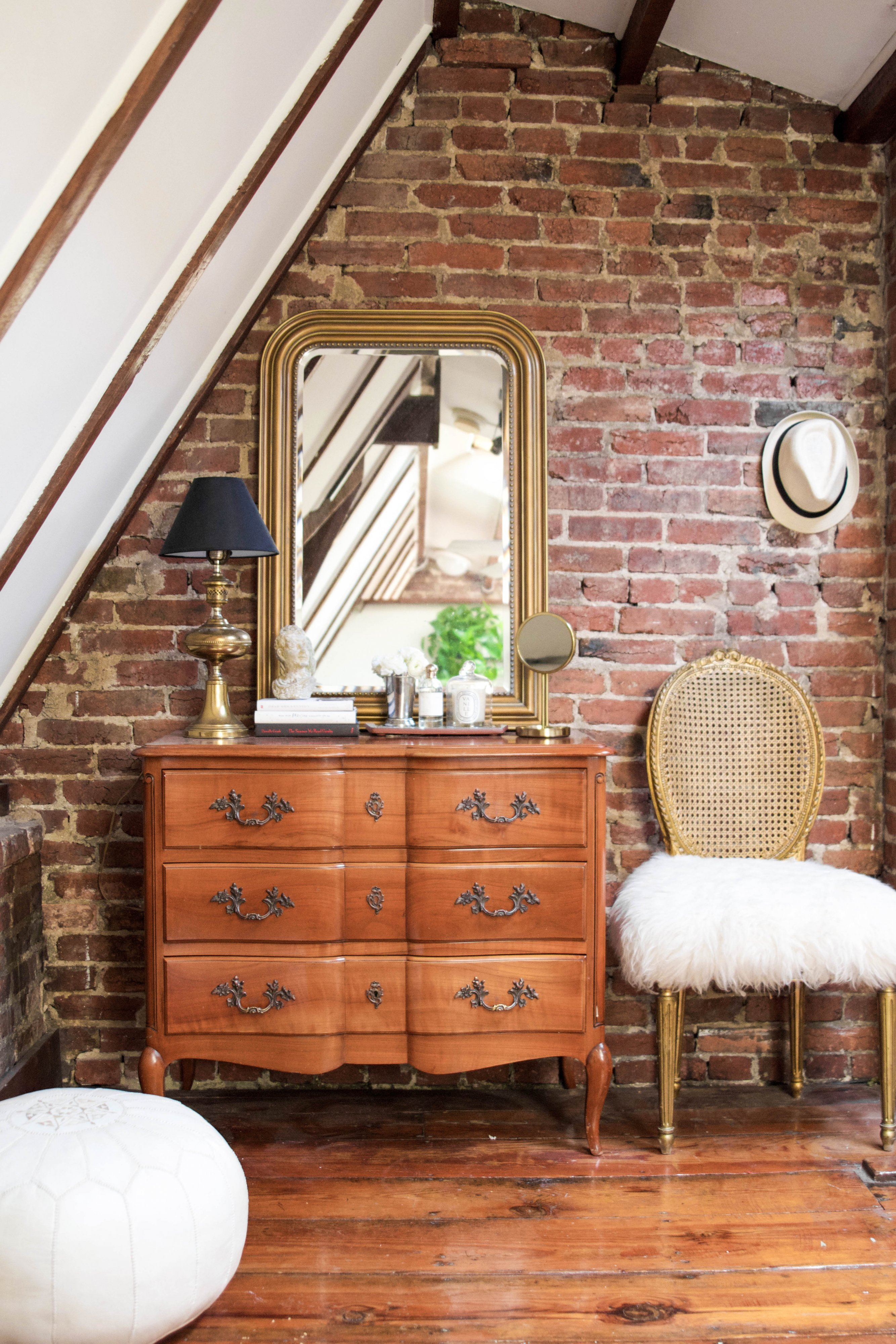 Look Inside My Home: An Exposed Brick Loft in Dupont Circle