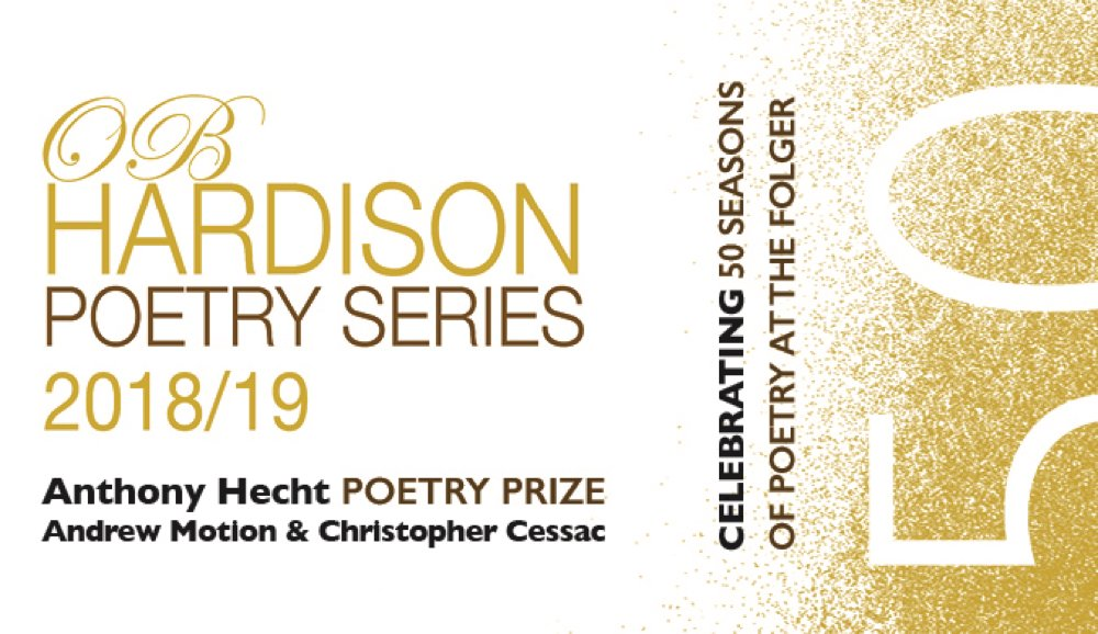 The Hecht Poetry Prize: with Andrew Motion