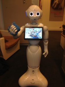 The Smithsonian Robot Pepper Can Create Music from Visual Art. Now You Can Hear the Creepy Sample Tracks.