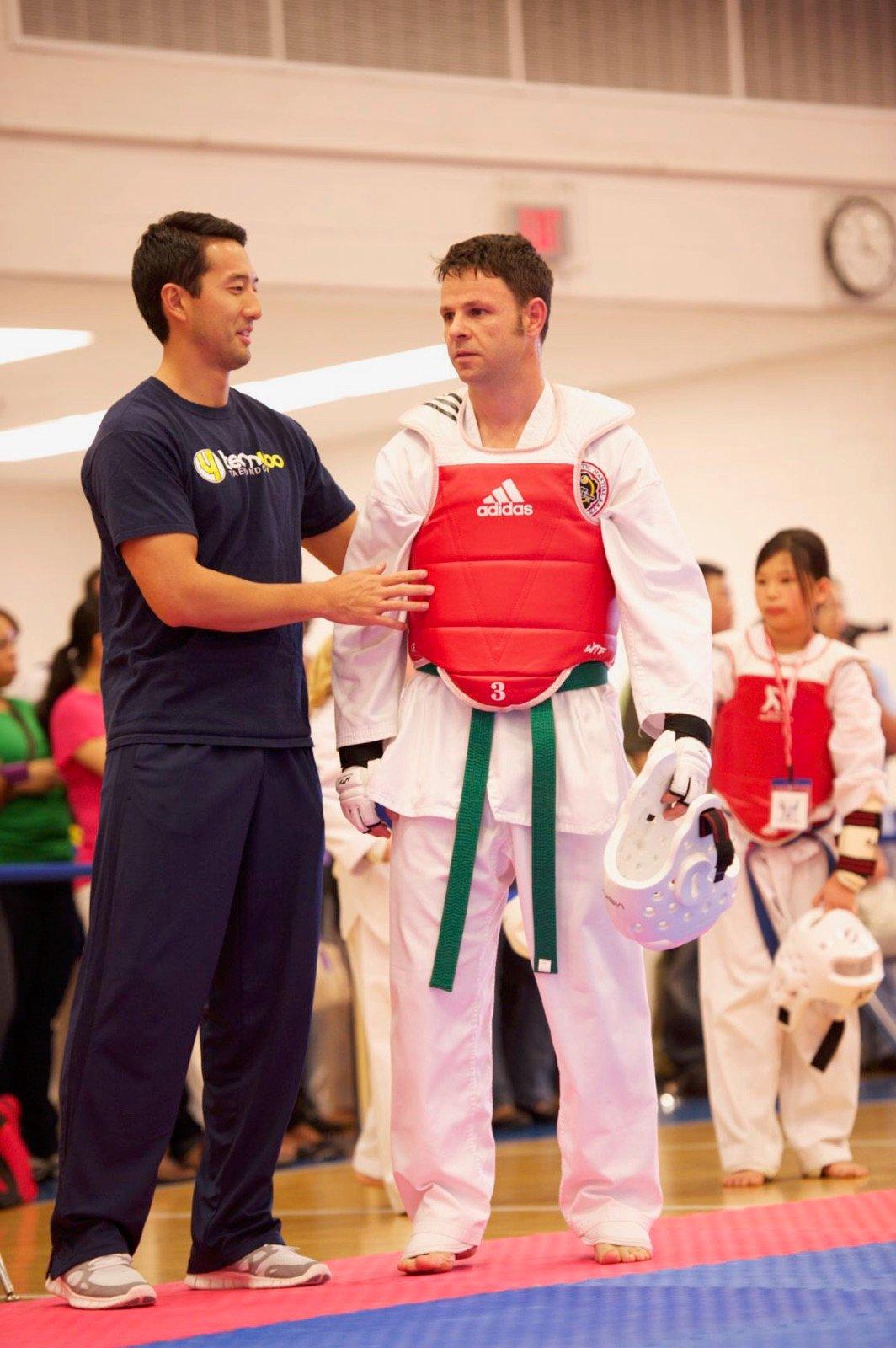 How Cathal Armstrong Juggles 4 Restaurants, 2 Kids, and Still Wins National Taekwondo Championships