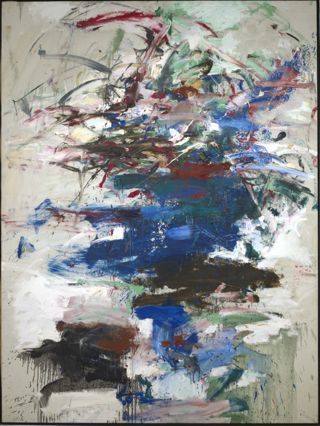 """Marlin"" by Joan Mitchell, 1968. Photograph courtesy of SAAM."