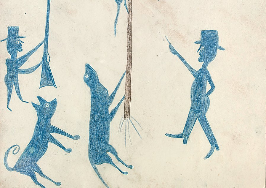 3 Things to Know About Bill Traylor, the Former Slave Whose Striking Illustrations Bear Witness to the Jim Crow South