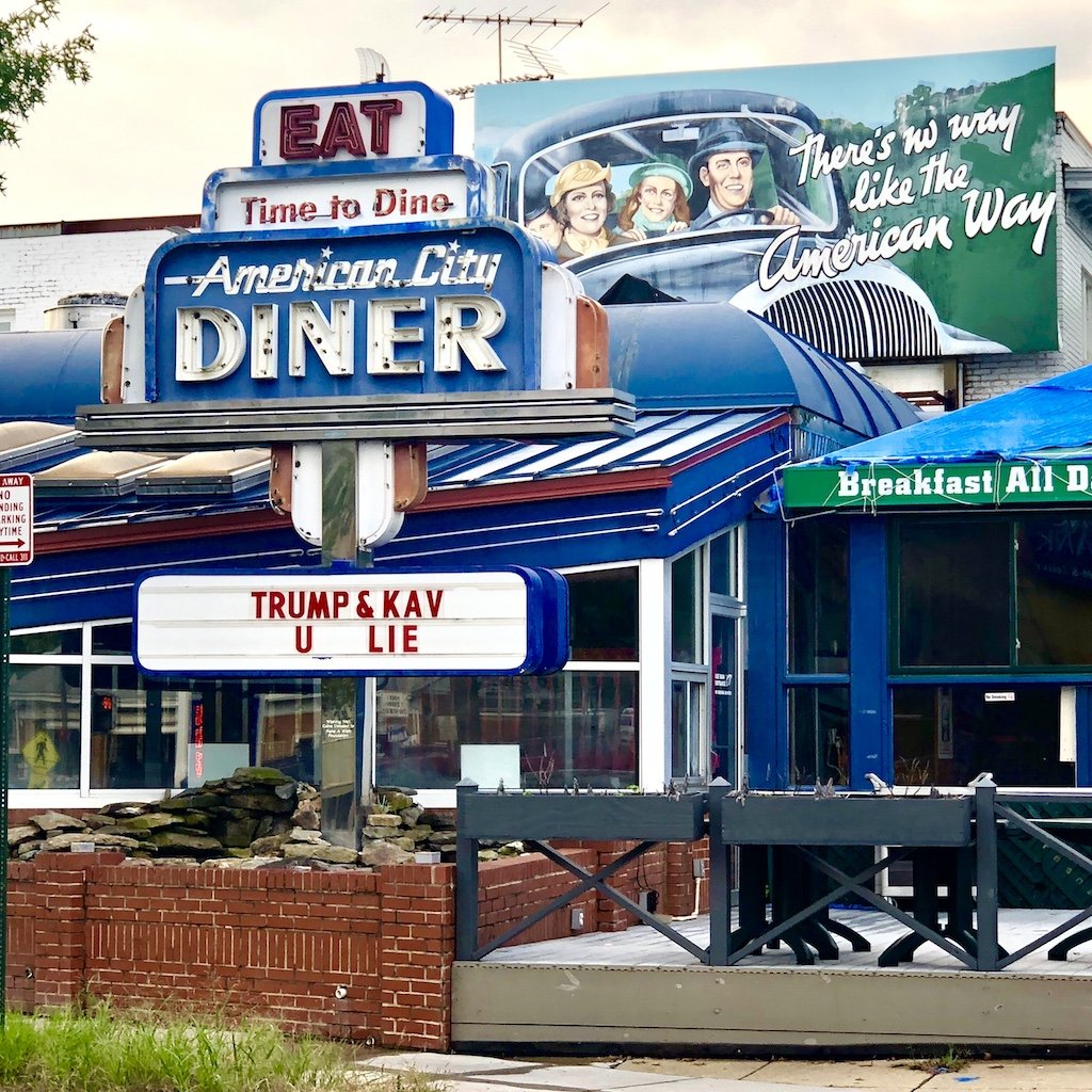 DC Diner Trolls Kavanaugh Along His Route Home