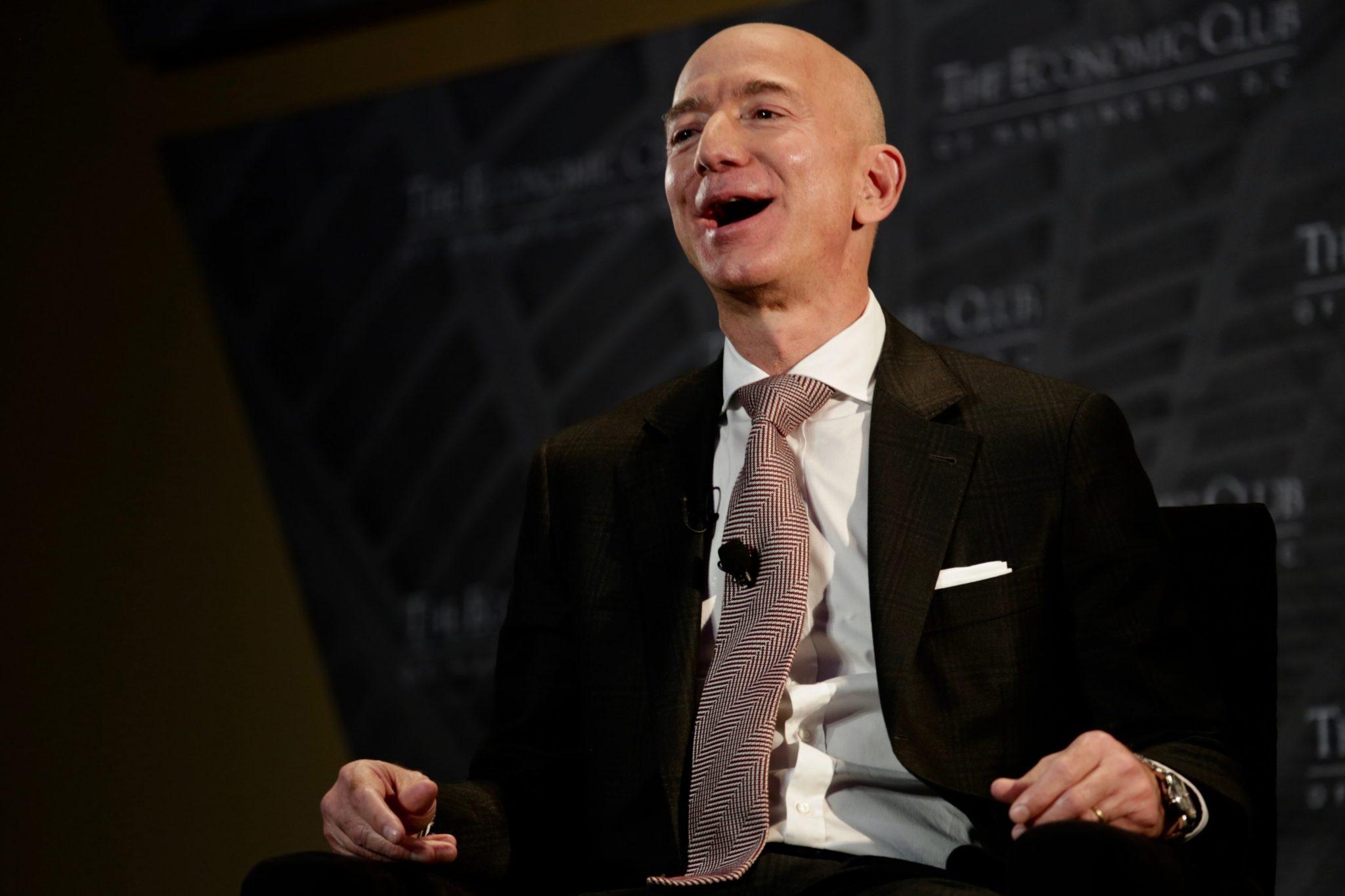 Jeff Bezos Washington DC