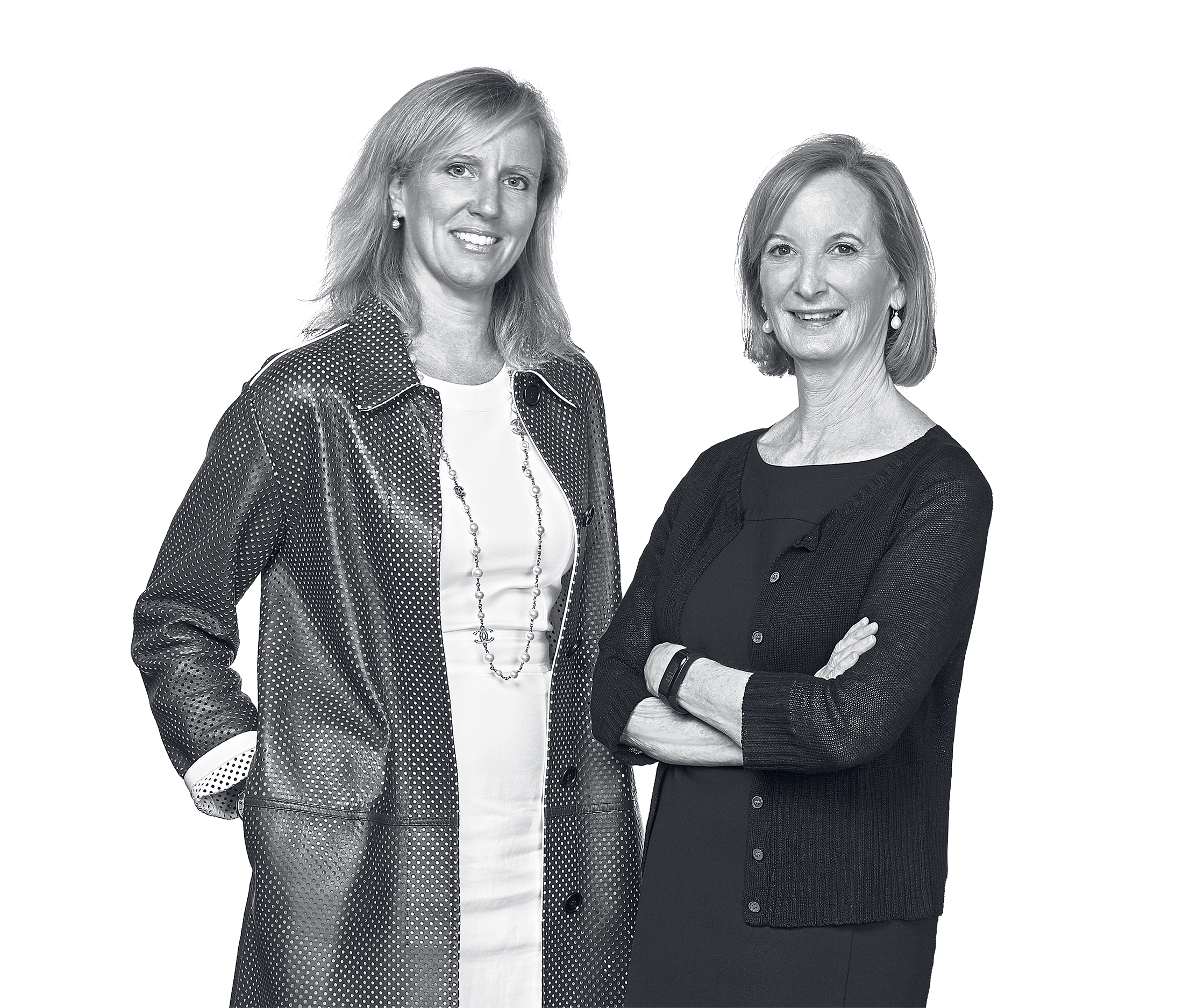 Jodie McLean and Deborah Ratner Salzberg. Photograph by Jeff Elkins.