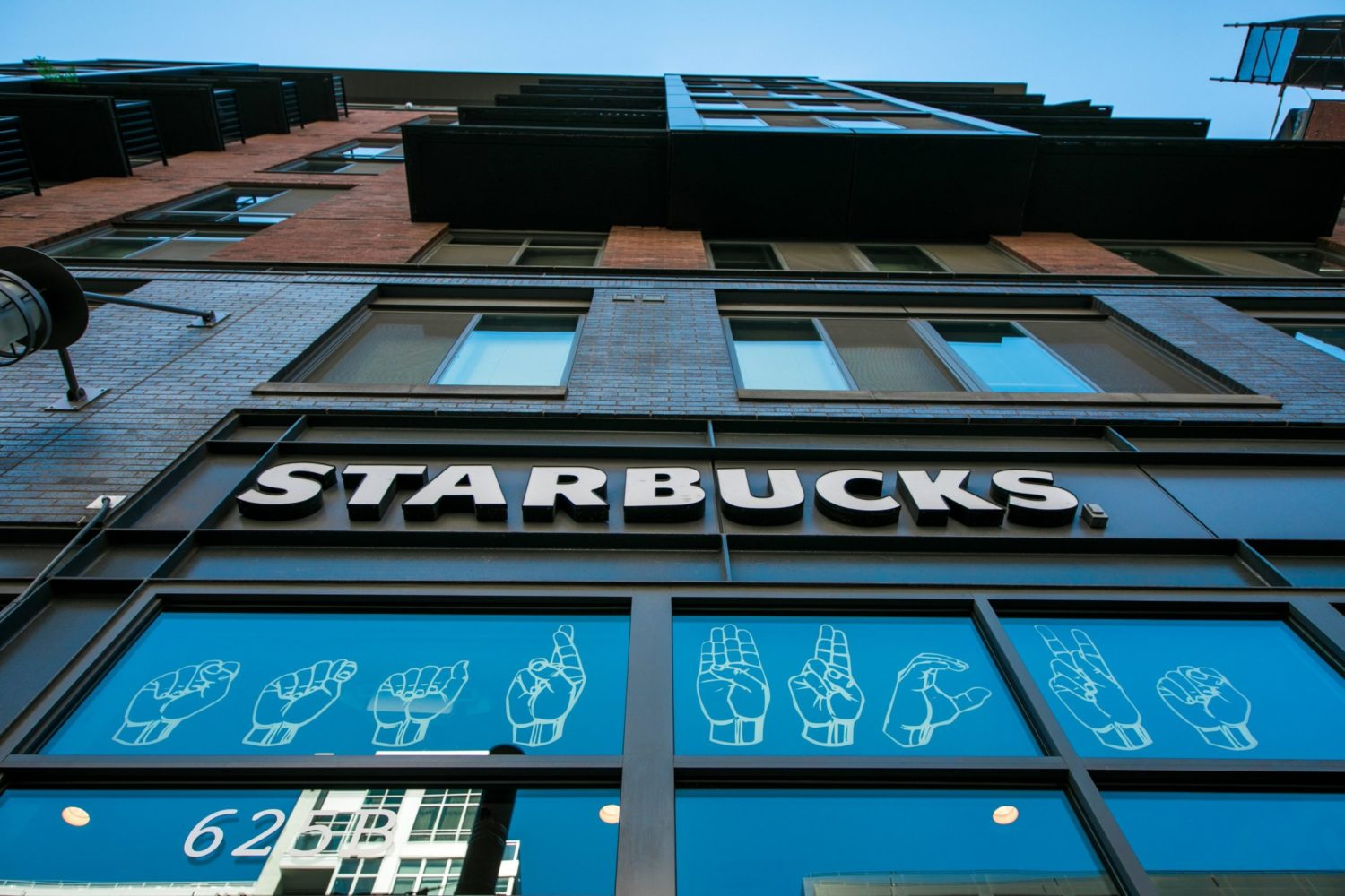 Starbucks' first US signing location. Photograph by Joshua Trujillo, Starbucks.