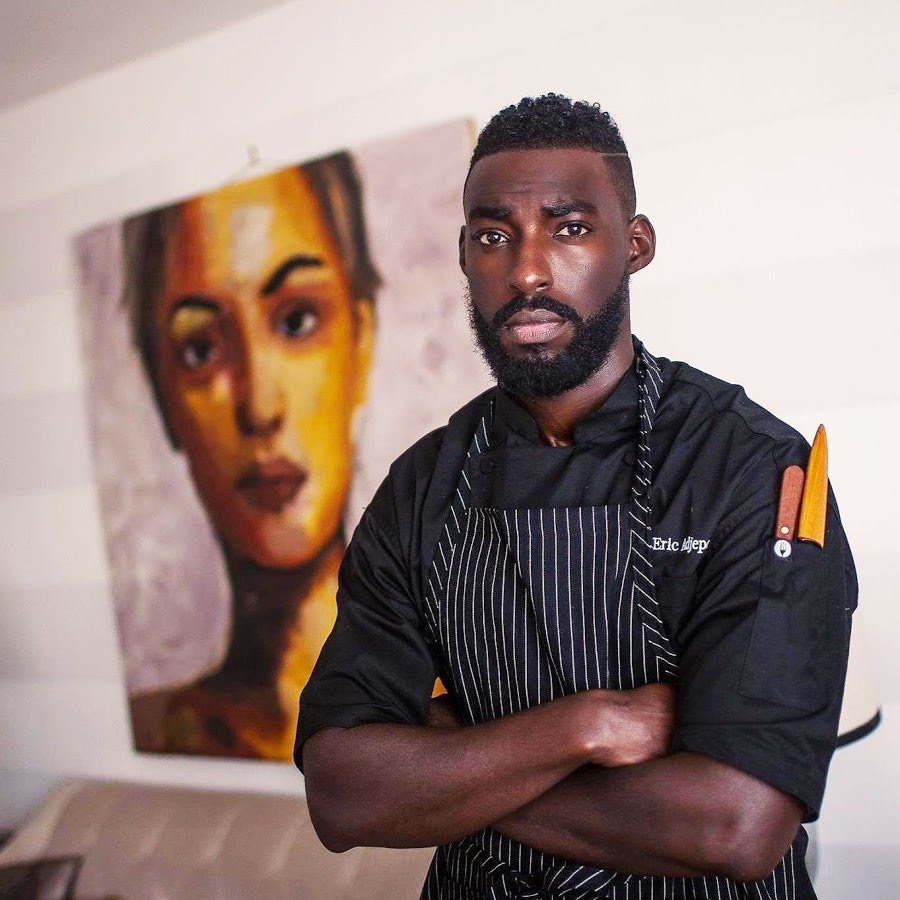 Chef Eric Adjepong of Pinch & Plate. Photograph courtesy of Chef Adjepong.