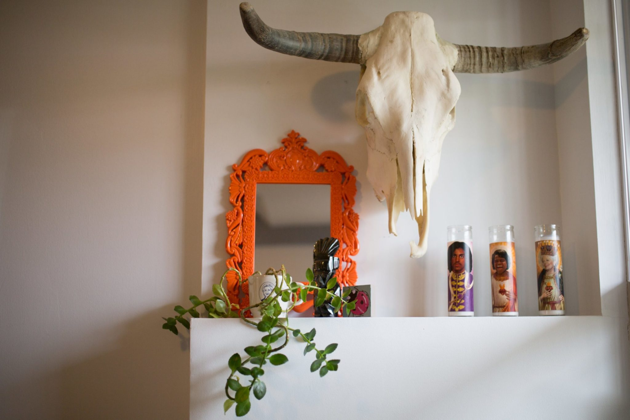 Look Inside My Home: A Colorful, Quirky House in Columbia Heights (With Cowhide!)