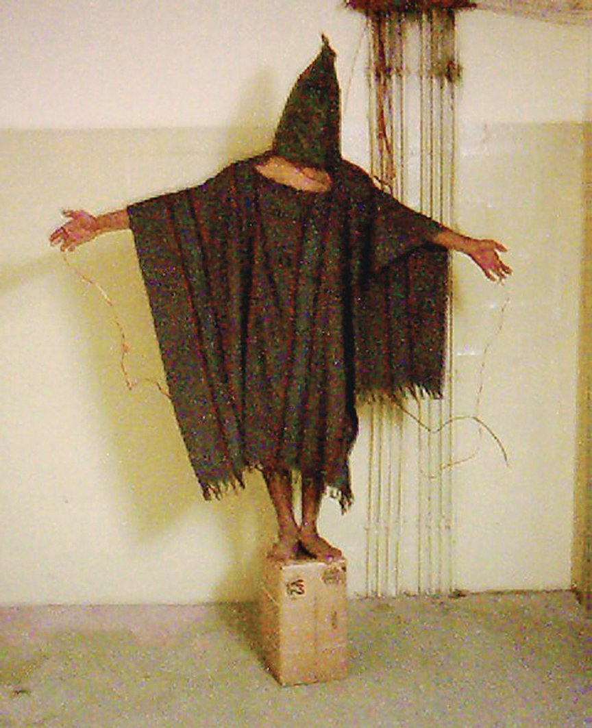 Abu Ghraib was a huge story— after Hersh uncovered the prison torture scandal during the Iraq War, U.S. morale darkened and support for the war waned. Photograph of Abu Ghraib by AP Images.