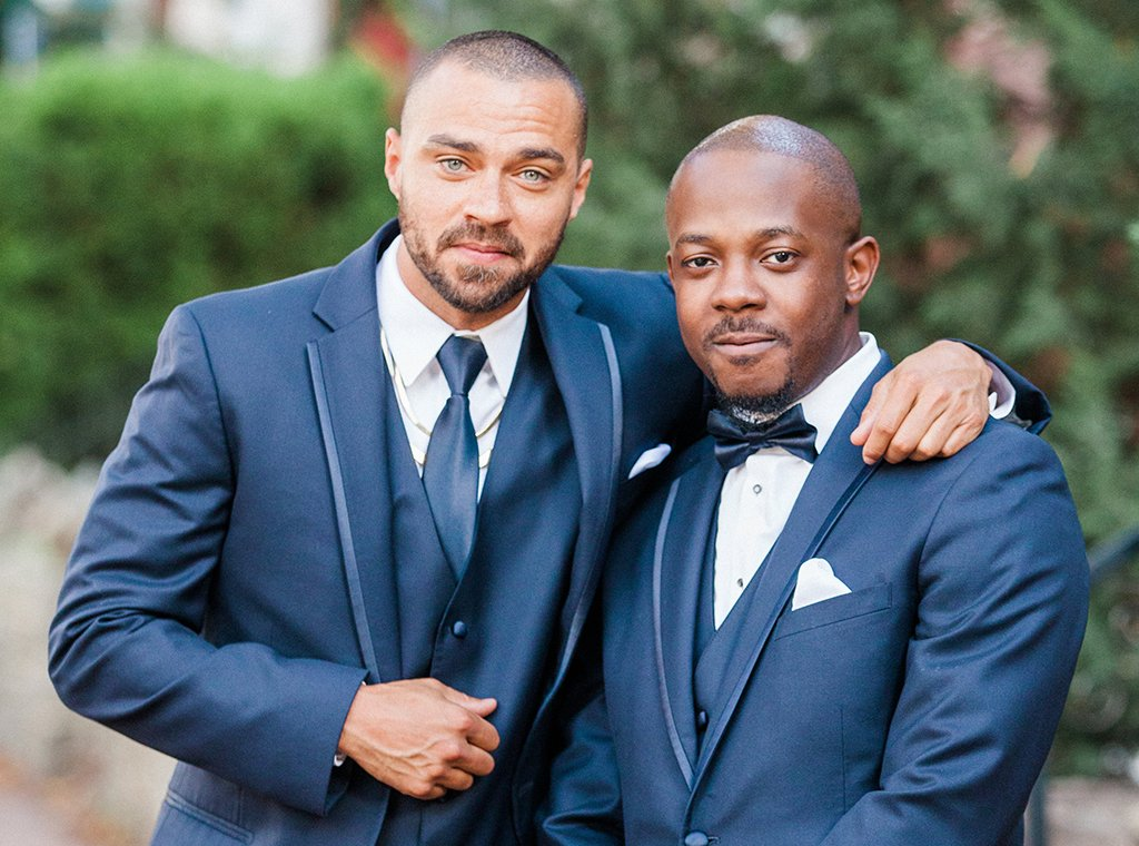Grey's Anatomy Star Jesse Williams was the Best Man at a Neighborhood Wedding In Bloomingdale