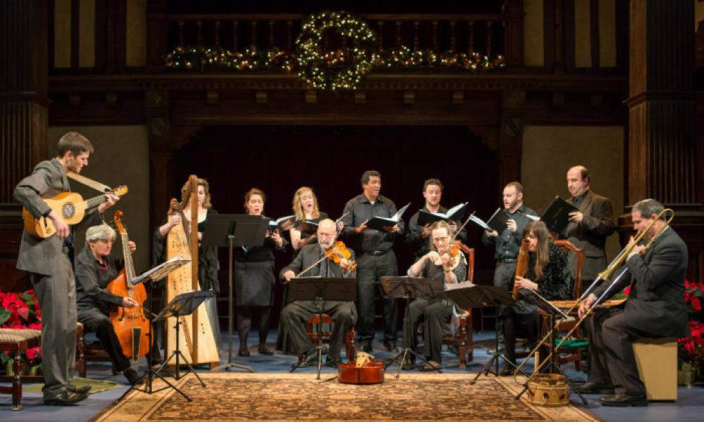A Christmas Messe: Seasonal English Music