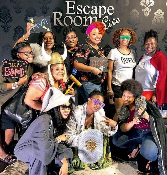 Photograph courtesy of Escape Room Live.