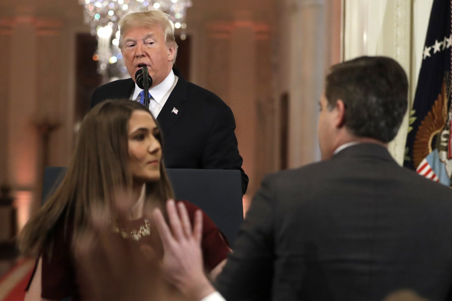 Trump Jim Acosta Insults