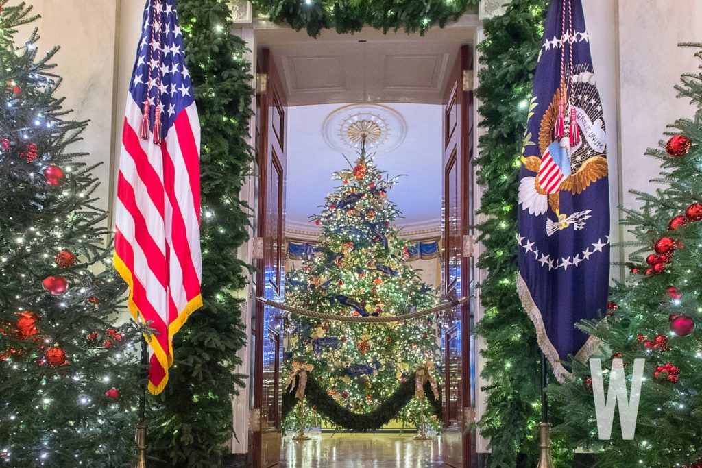 PHOTOS: The 2018 White House Christmas Decorations