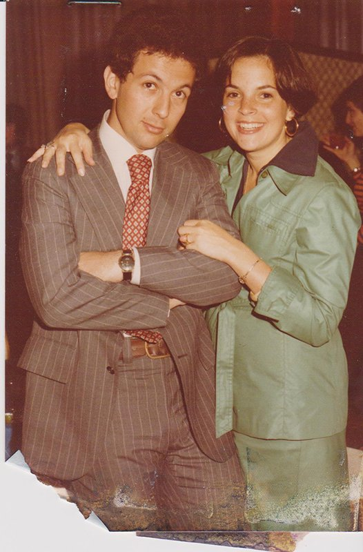 Ina Garten And Her Husband Jeffrey Taken When They Lived In Washington Photograph Courtesy Of