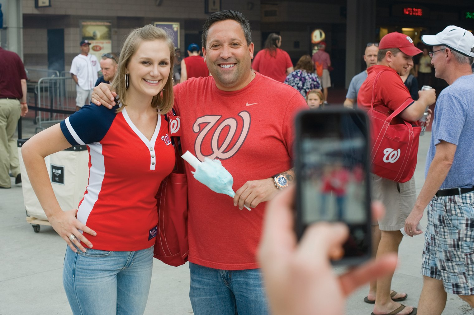 Fans swarmed Mike Isabella at his restaurants and in public, and he extended his brand from upscale sit-downs to quick-grab stands at airports and Nats Park. Photograph by Louie Palu/ZUMA Press.