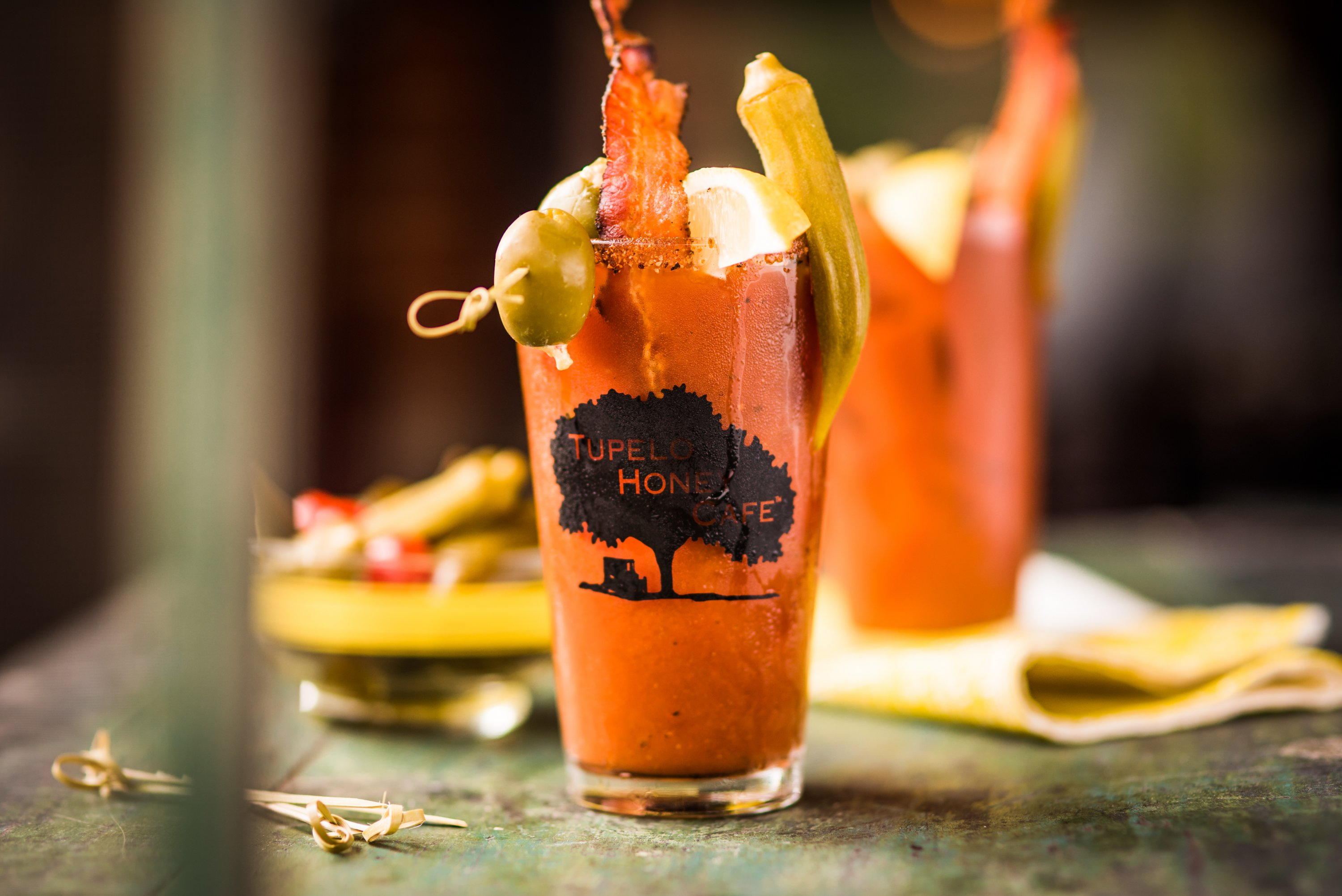 The bloody mary at Tupelo Honey. Photograph courtesy of Tupelo Honey.