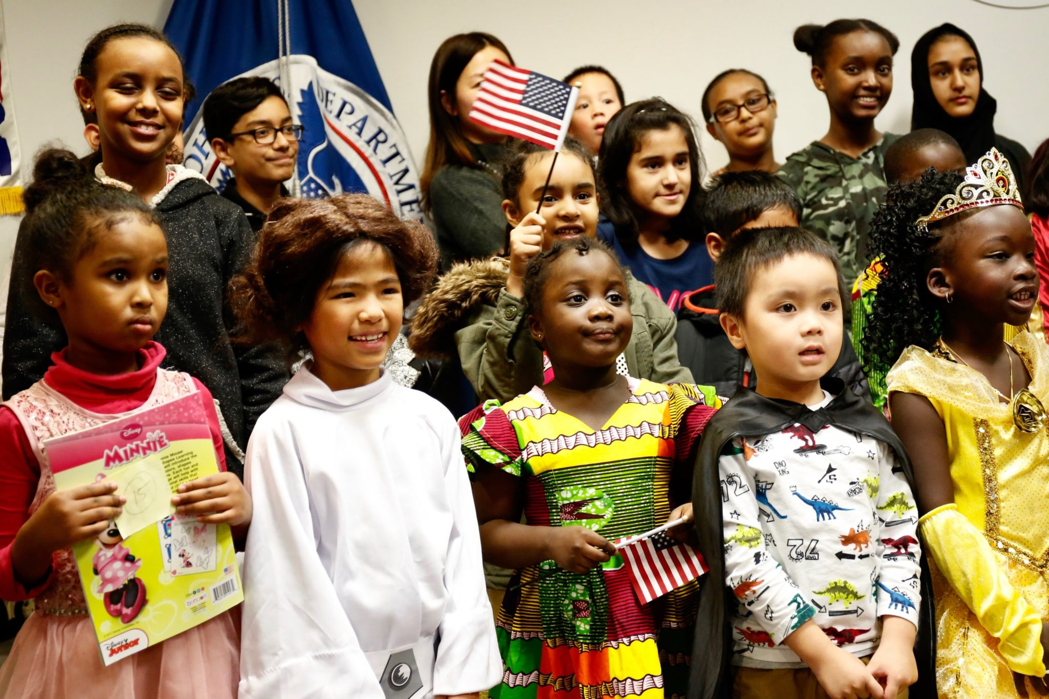 When Kids Become US Citizens on Halloween, You'd Better Believe They Dress Up