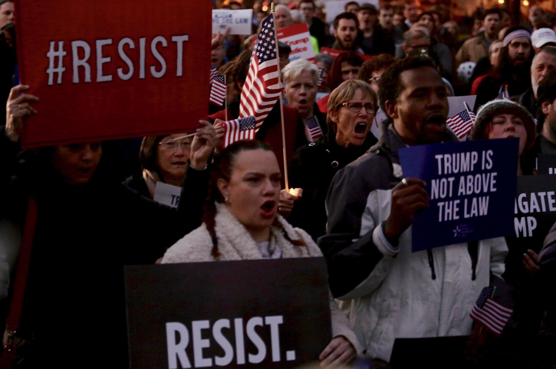 pro mueller protest dc