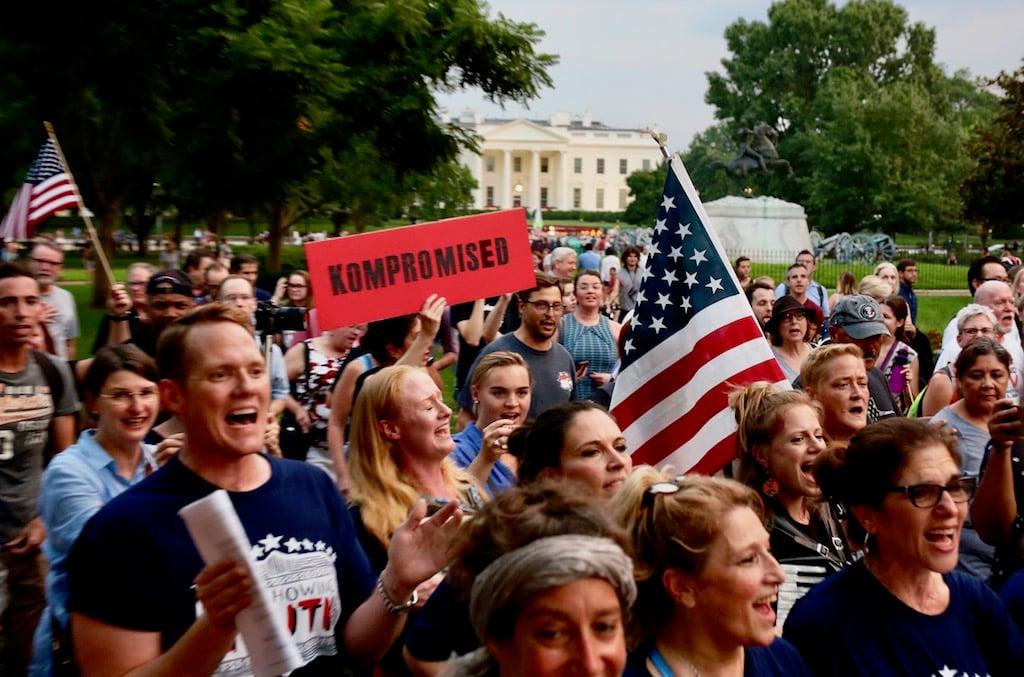 Mueller protest DC