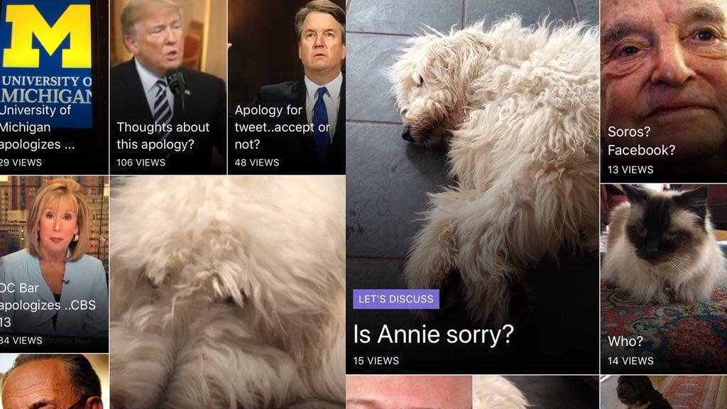 Greta Van Susteren Sorry App