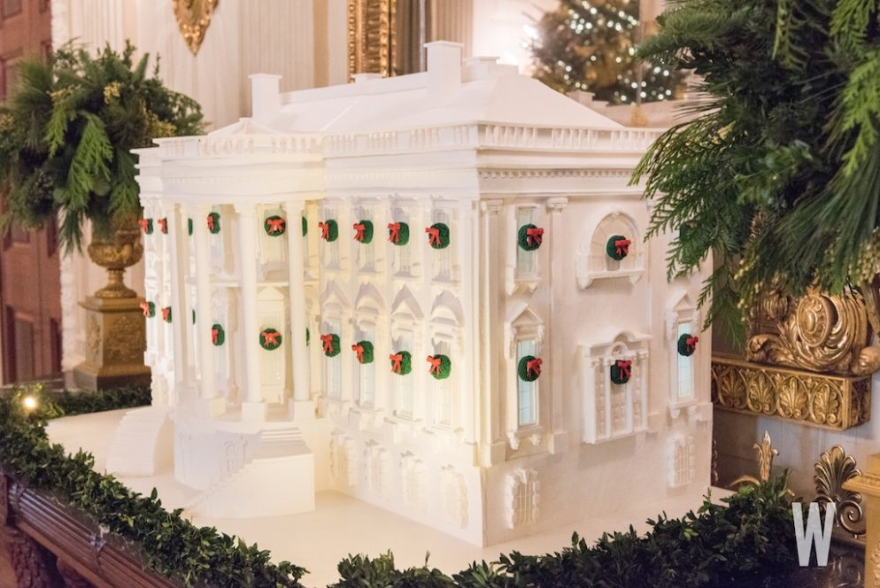 White House press Christmas party