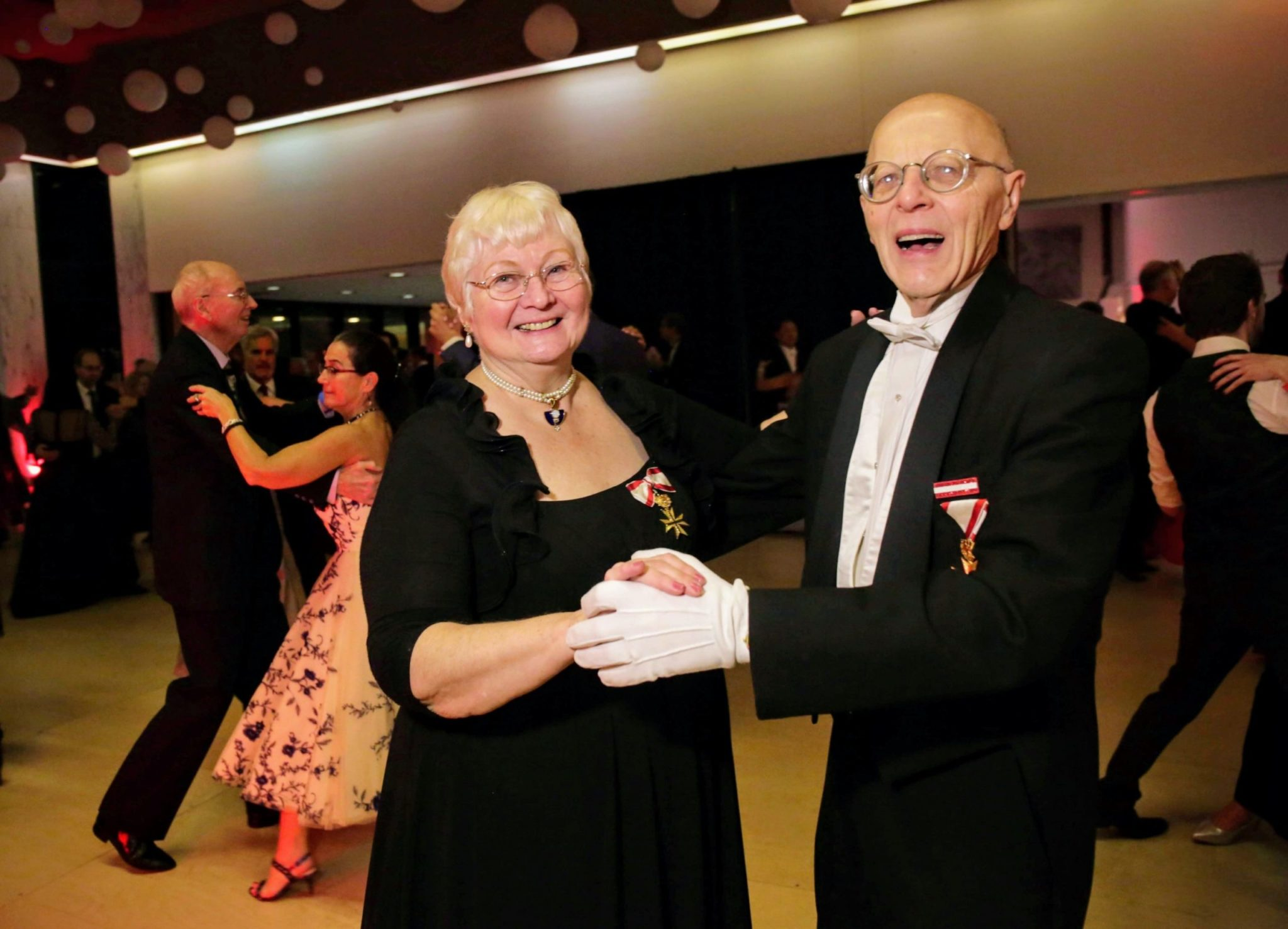 Meet the Septuagenarian Couple That Teaches DC How to Waltz