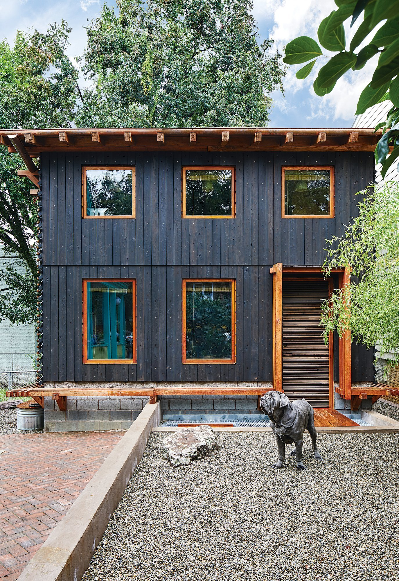 This Eco-Friendly Anacostia House Is Built Almost Entirely Out of Bamboo