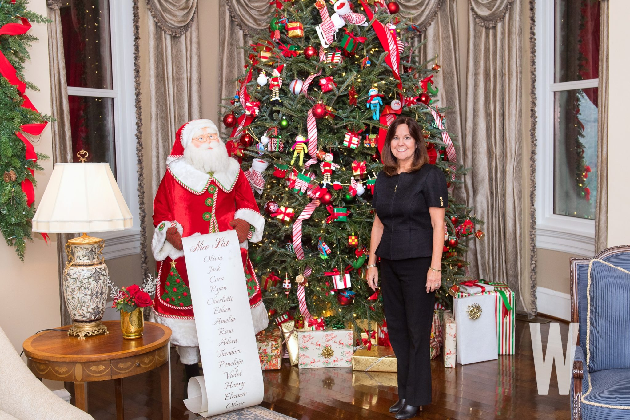 PHOTOS: The 2018 Vice President's Residence Christmas Decorations