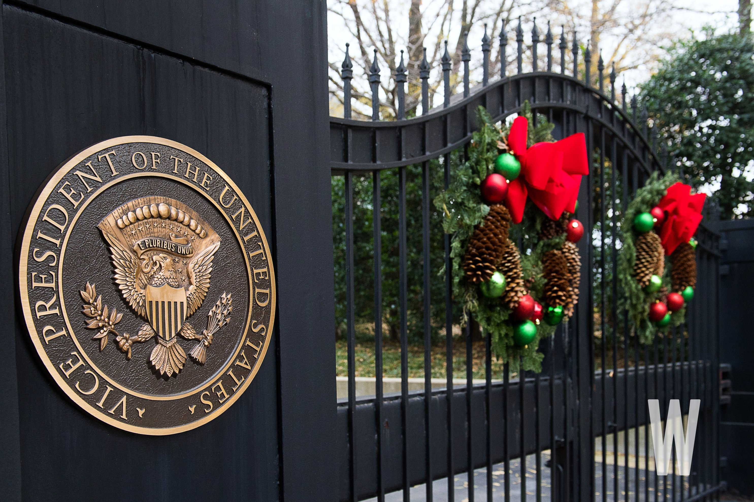vice president christmas decorations 2018