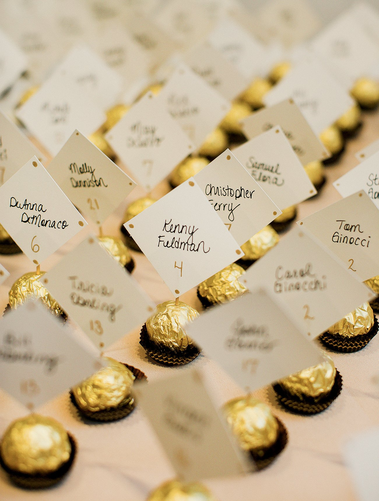 escort card wedding seating chart