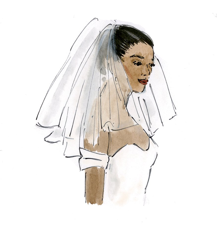 veil length guide wedding veil styles what length wedding veil do i wear should I wear a wedding veil birdcage veil cathedral veil