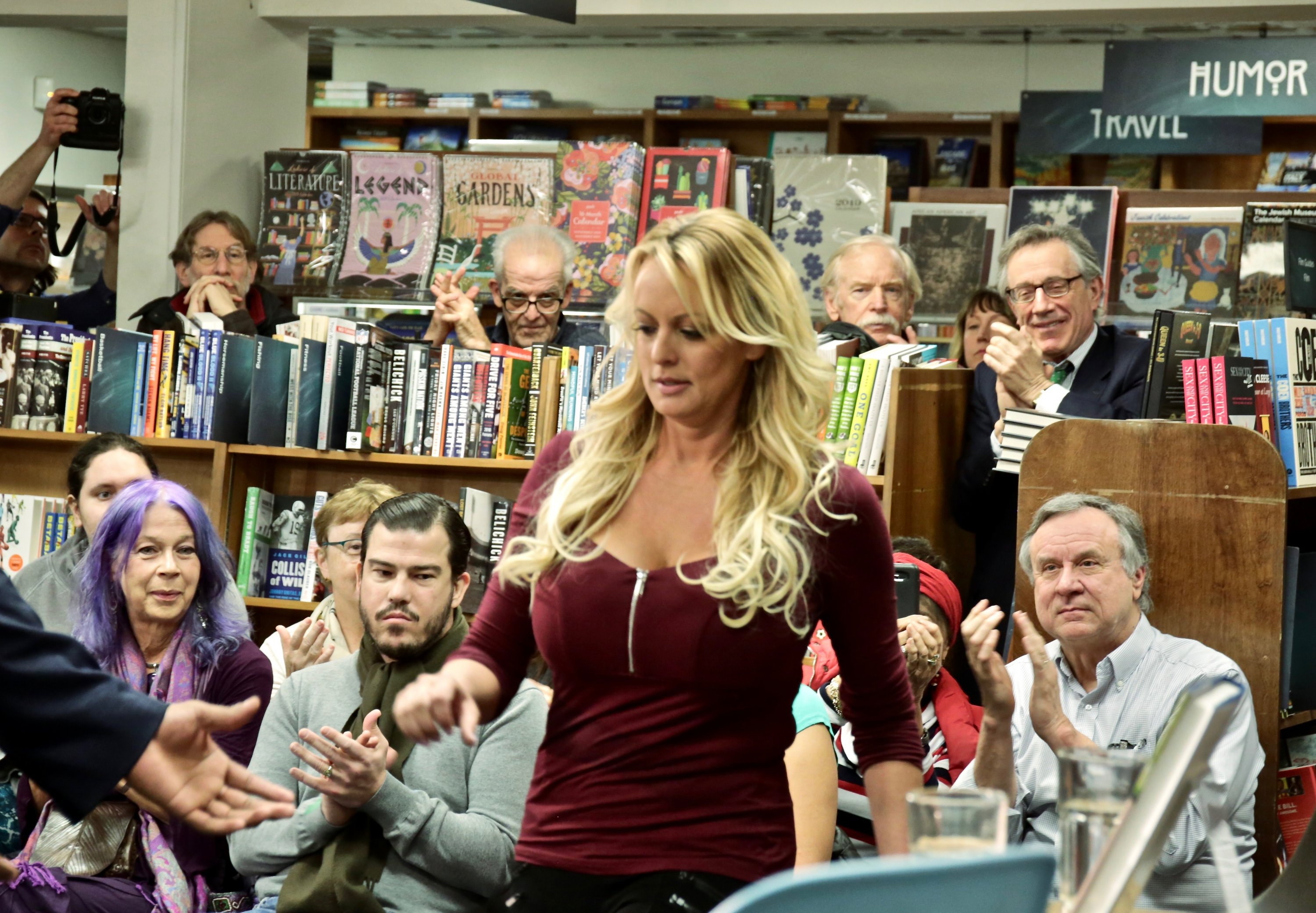 Here's What Happened at Stormy Daniels's Politics and Prose Talk