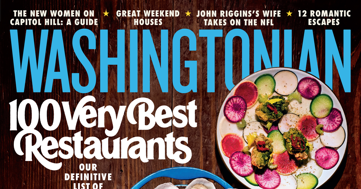 100 Very Best Restaurants, February 2019. On the cover: Photograph by Scott Suchman; lettering by Simon Walker.