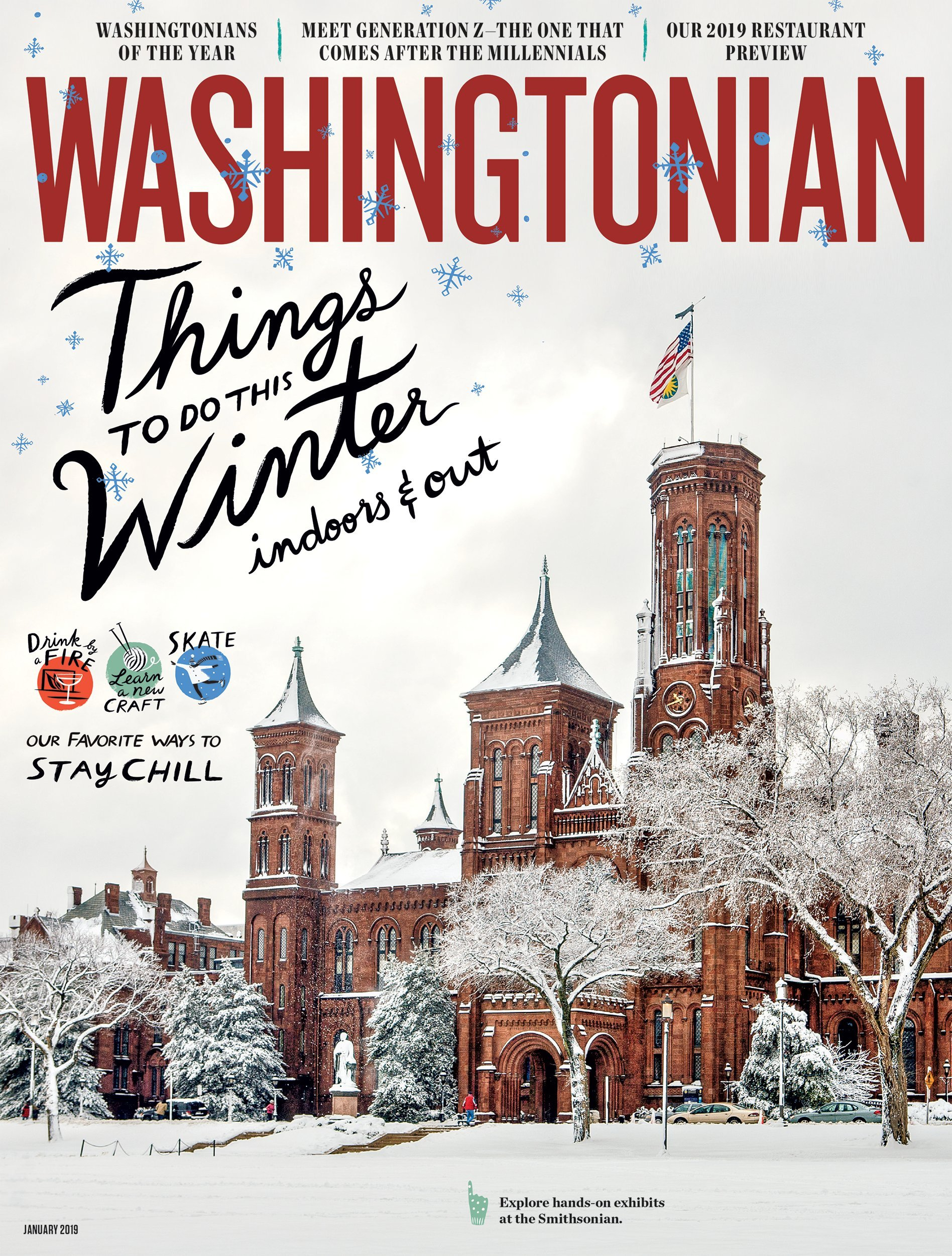 January 2019: Winter in Washington