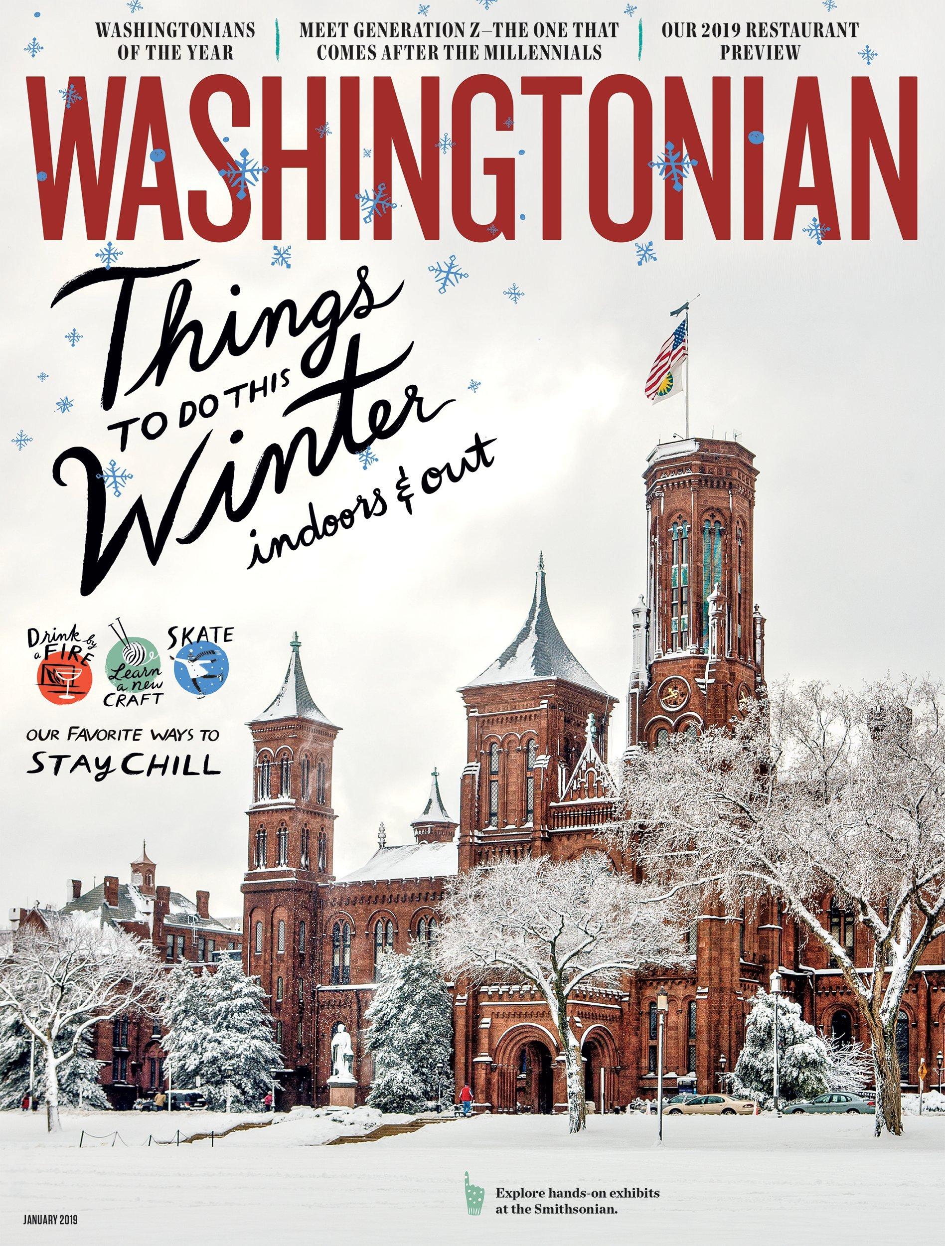 January 2019: Winter in Washington