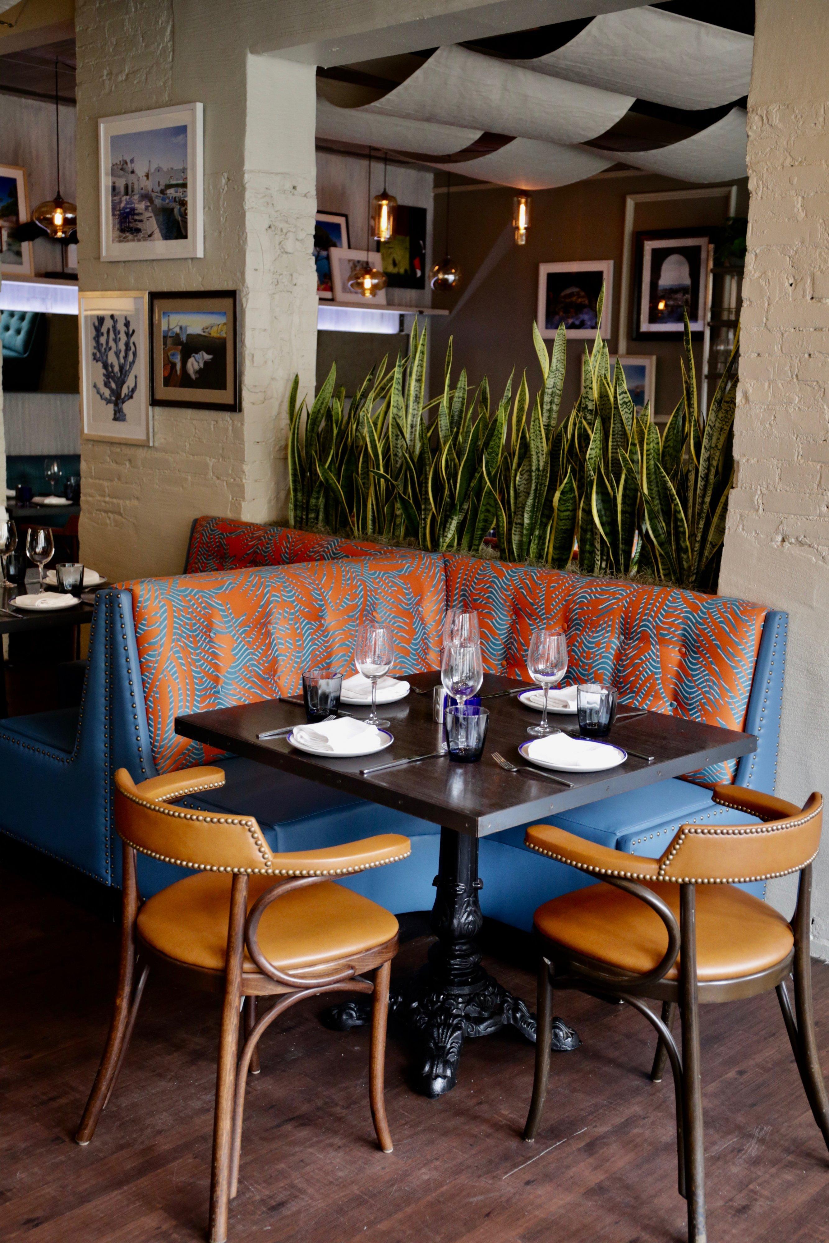 Olivia modern Mediterranean restaurant open Penn Quarter DC