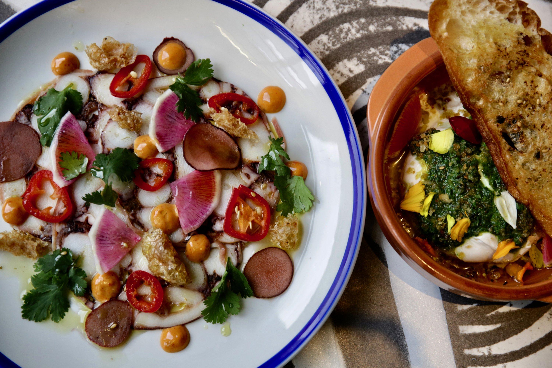 Olivia modern Mediterranean open Penn Quarter DC new restaurant.